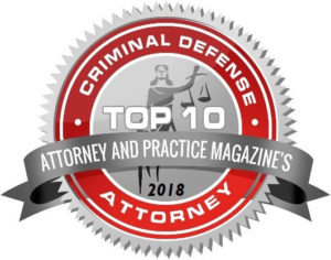 Top Criminal Defense Attorney, Attorney and Practice Magazine